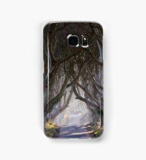 The Dark Hedges  Game of Thrones County Antrim  Northern Ireland Samsung Galaxy Case/Skin