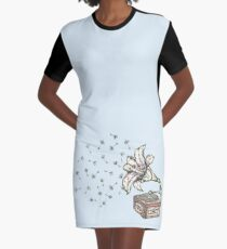 Natures Sound Graphic T-Shirt Dress