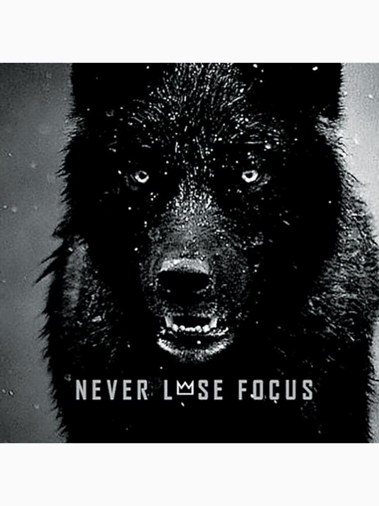 never lose focus