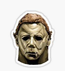 Michael Myers mask Halloween  Sticker
