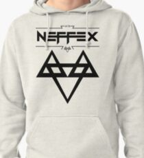 NEFFEX 2 Logo Black Pullover Hoodie