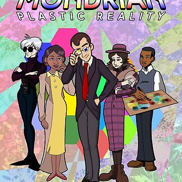 Mondrian - Plastic Reality Cast by lantanagames