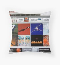 Home page - 11th August 2008 Throw Pillow