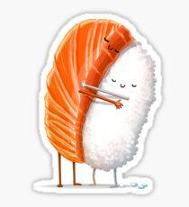 Sushi Hug Sticker