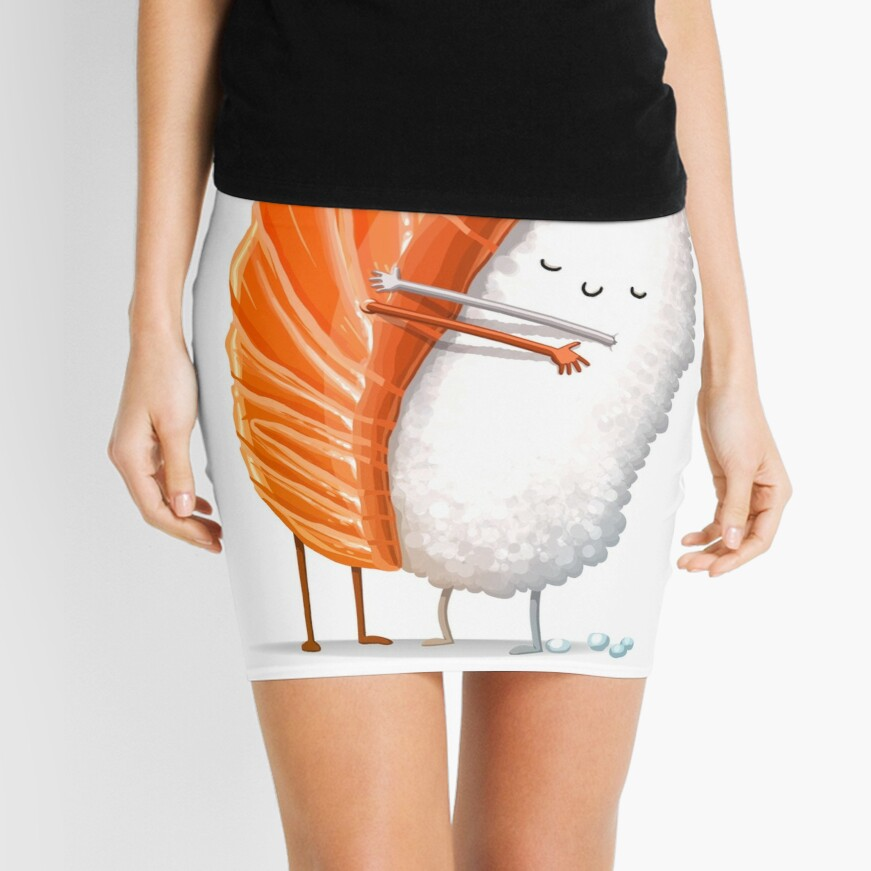 Sushi Hug Mini Skirt