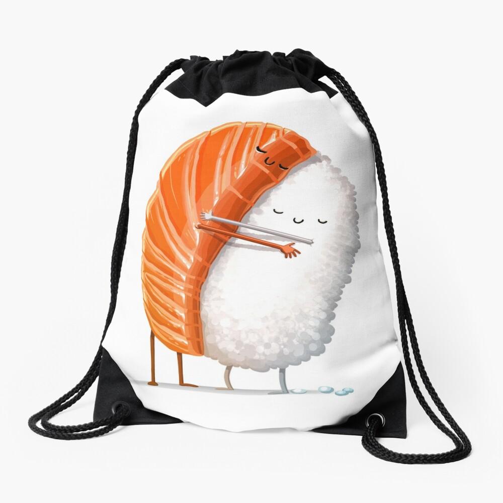 Sushi Hug Drawstring Bag
