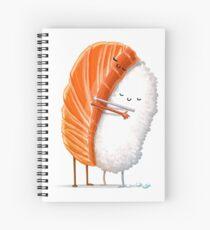 Sushi Hug Spiral Notebook