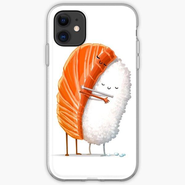 Sleepy Sushi Bed iPhone 11 case