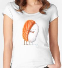 Sushi Hug Women's Fitted Scoop T-Shirt