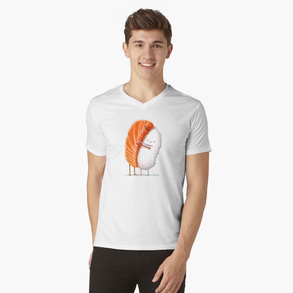 Sushi Hug V-Neck T-Shirt