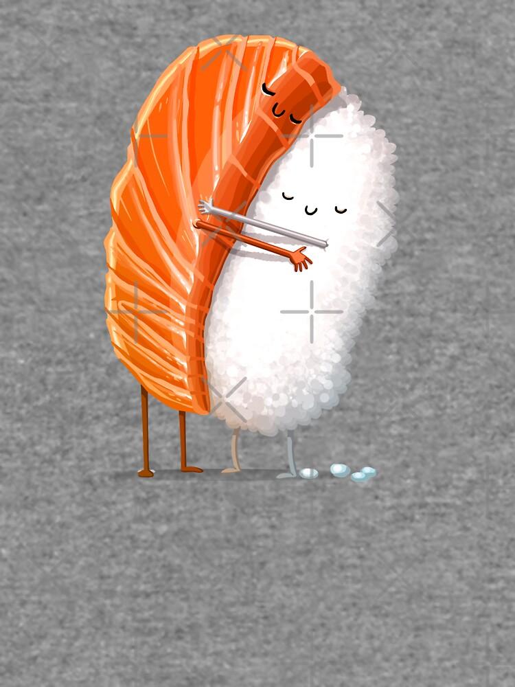 Sushi Hug by andremuller