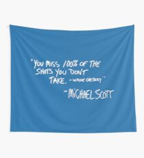 The Office - Michael's Quote Wall Tapestry