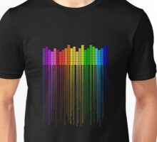 Colorful Music Equalizer Unisex T-Shirt