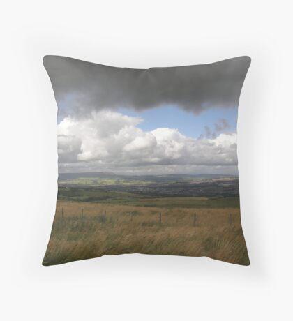 Threat of rain Throw Pillow