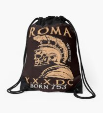 Roman Centurion, Rome, 753 A.C Drawstring Bag