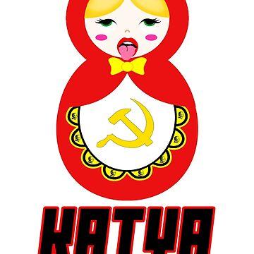 Katya Zamolodchikova - Soviet Matroyshka  by alltallshade