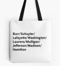 Bolsa de tela Nombres de Hamilton
