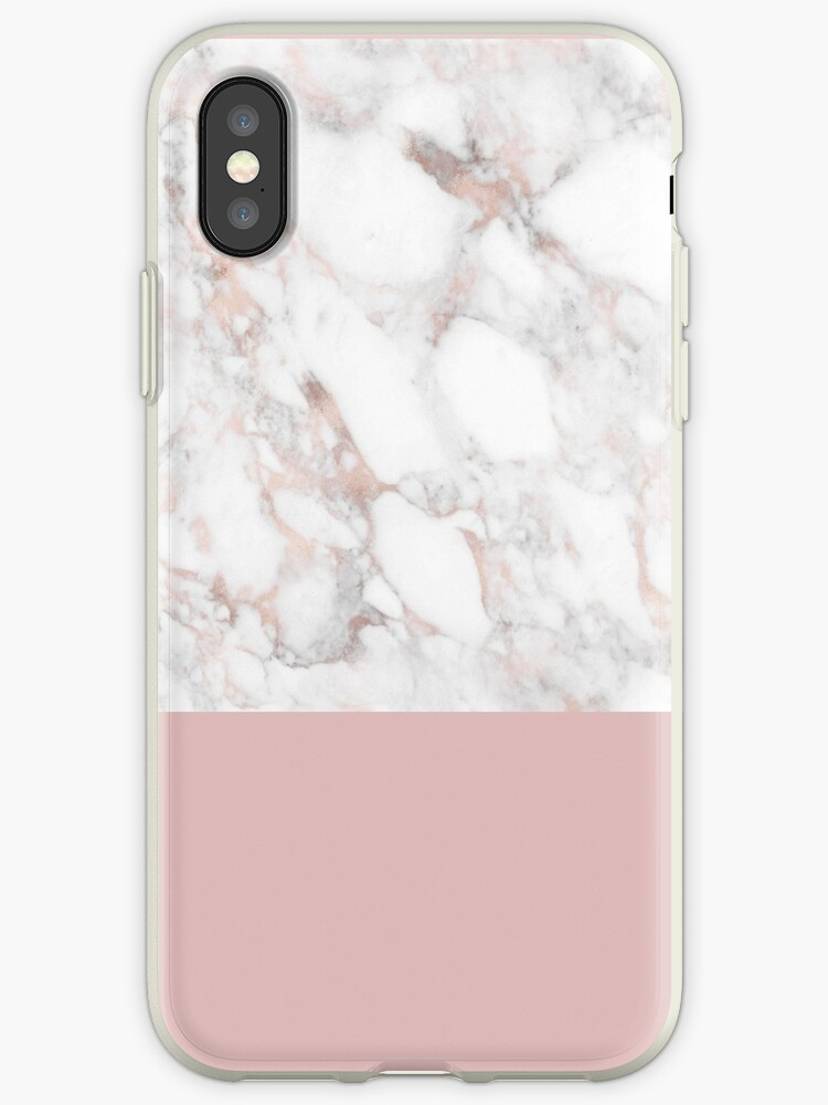 Quot Rose Gold Marble White Quot Iphone Cases Amp Covers By