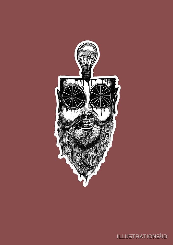 Beard  by ILLUSTRATIONS4D