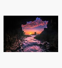 Cathedral Rocks Cave Photographic Print