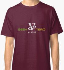Geek VS Nerd Tshirt Classic T-Shirt