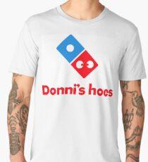 Donni's Hoes 'parody' fun logo Men's Premium T-Shirt
