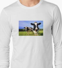 Earthworm Jim Groovy Cows Long Sleeve T-Shirt