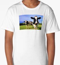 Earthworm Jim Groovy Cows Long T-Shirt