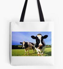 Earthworm Jim Groovy Cows Tote Bag