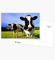 Earthworm Jim Groovy Cows Postcards