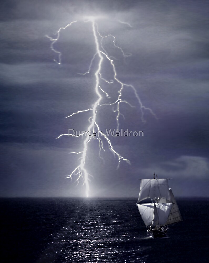Escaping from Storm by Duncan Waldron