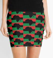 Symbol of Africa - Pan African Flag Mini Skirt