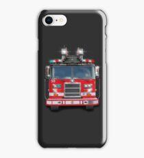 Chicago Fire Truck design by MotorManiac iPhone Case/Skin