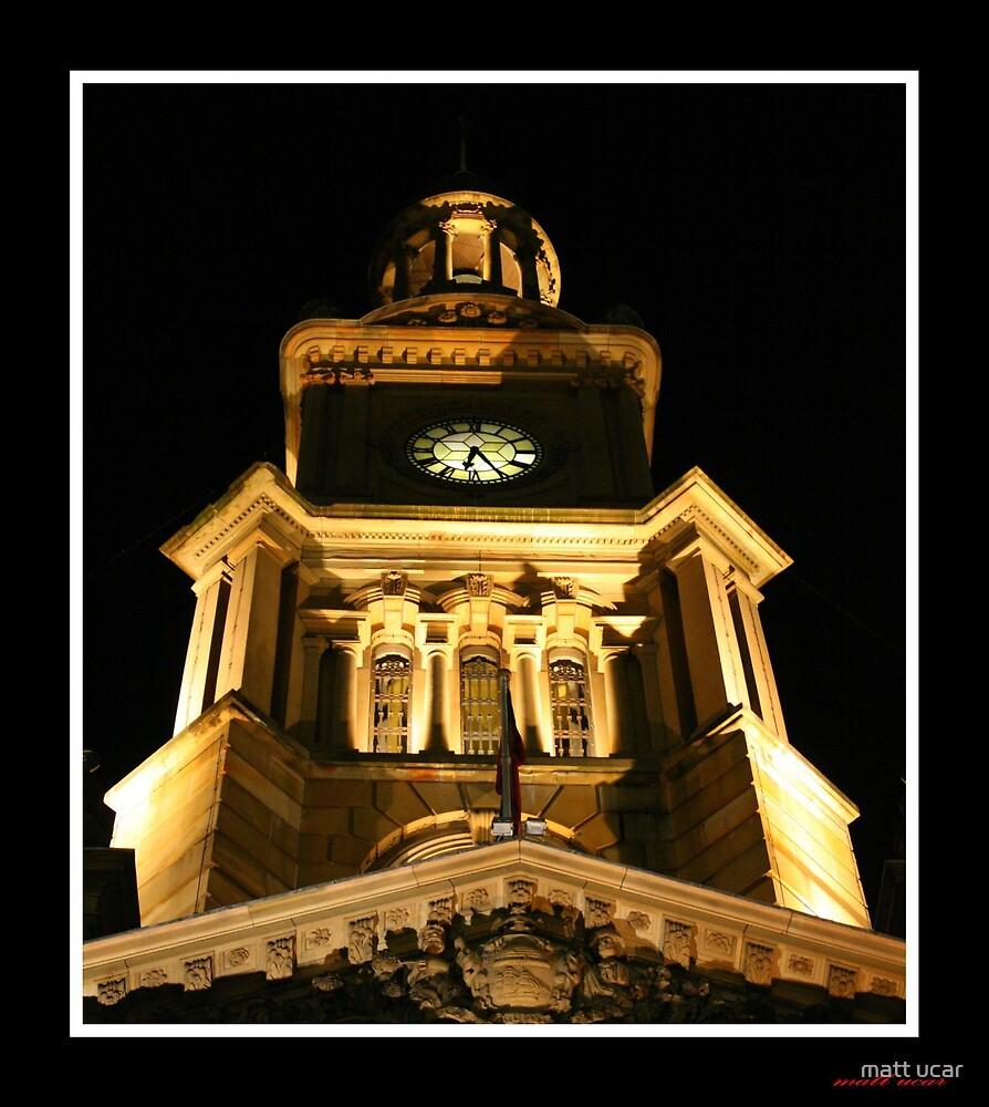 Sydney Town Hall by matt ucar
