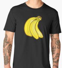 Go Bananas - Banana Pattern Mini Skirt Scarf Dress Duvet Bag Men's Premium T-Shirt