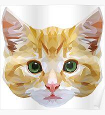 Crystalline Cat Poster
