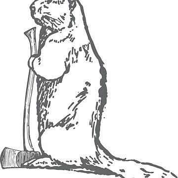 Beaver Ingenuity (Grey) by bradyqk