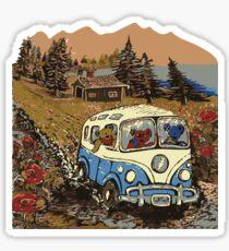 Grateful Dead - Bear Vacation Sticker