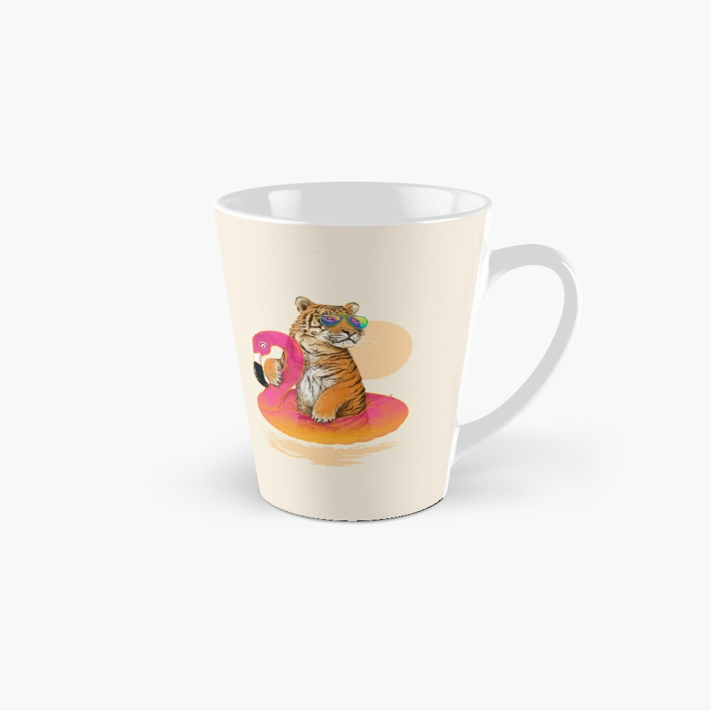 Chillin, tigre flamenco Taza