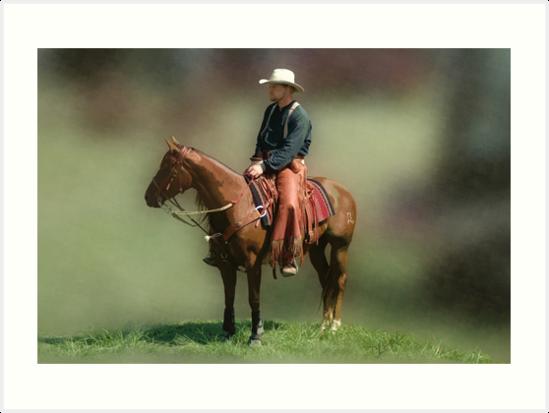 The Cowboy by Christine Thomas