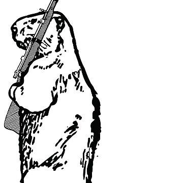 Watchful Beaver by bradyqk