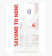 2nd Infantry division - Second to none engagements Photographic Print