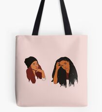 2 Dope Queens Tote Bag