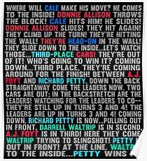 Last Laps: 1979 Daytona 500 Poster