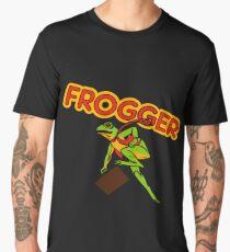 Frogger Cabinet Art Men's Premium T-Shirt