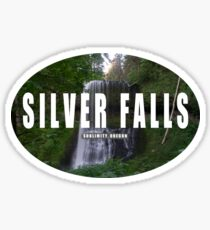 Silver Falls State Park Sticker Sticker