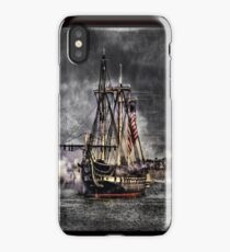 World's oldest commissioned warship afloat - USS CONSTITUTION iPhone Case