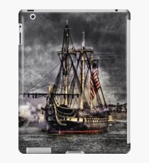 World's oldest commissioned warship afloat - USS CONSTITUTION iPad Case/Skin