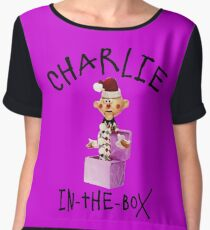 Charlie in the Box Women's Chiffon Top