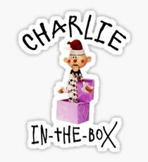 Charlie in the Box Sticker